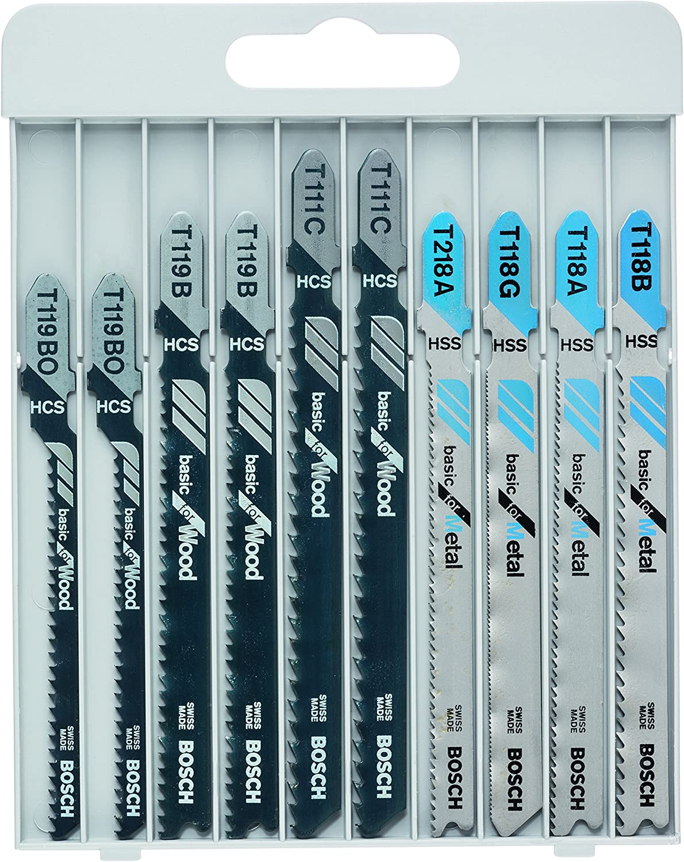 Hoja de sierra de calar Bosch 2608630037 madera, 5 unidades