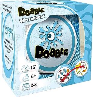 Asmodee Dobble Waterproof - Juego de cartas resistente al