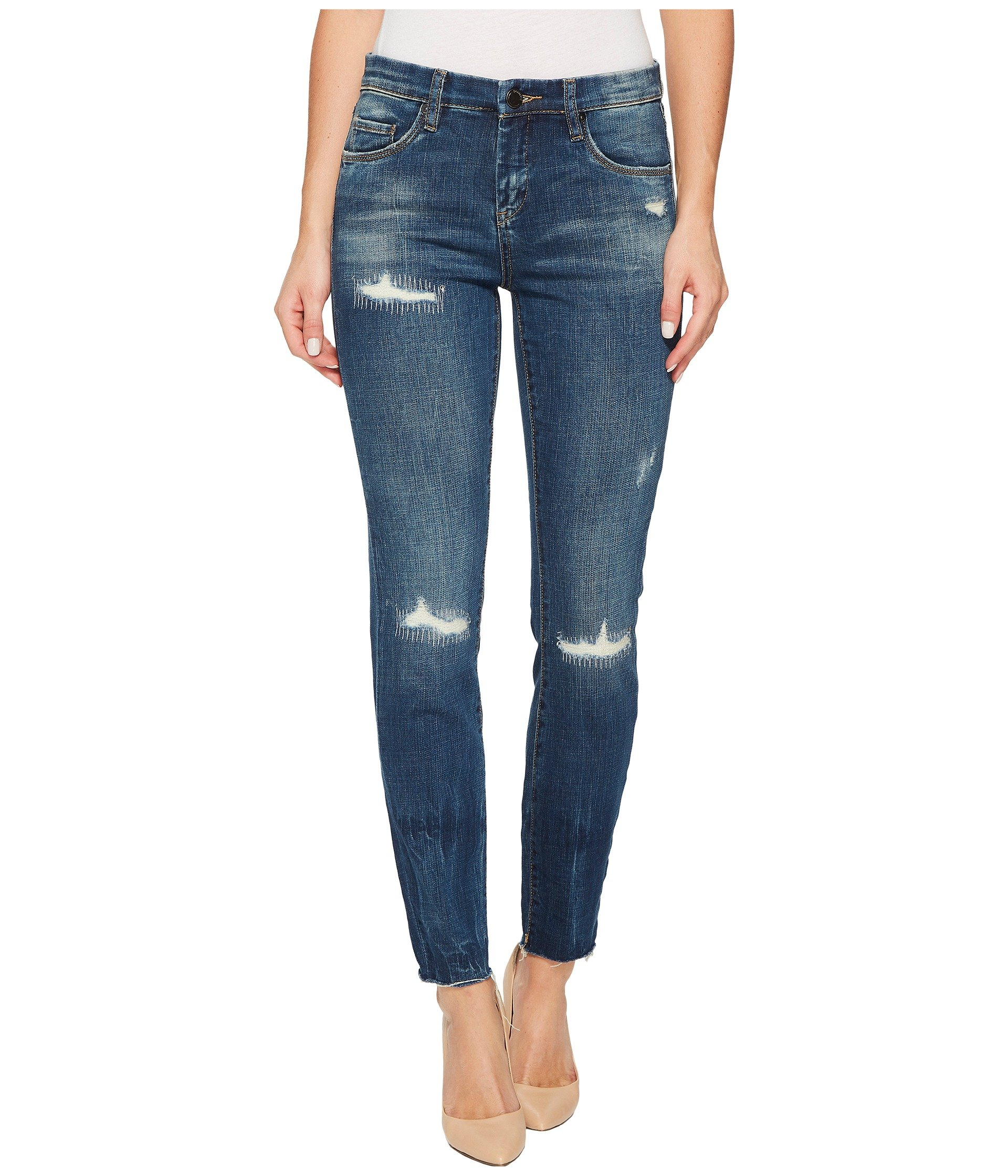 Distressed Skinny in High Dive