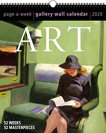 Art Page-a-week Gallery 2020 Calendar