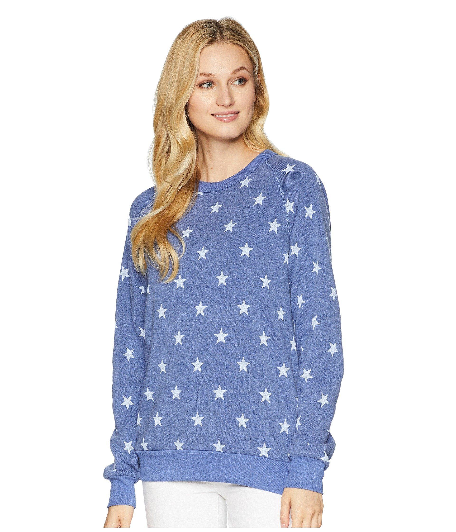 Pacific Blue Stars Eco Sleeve Alternative Champ Long fleece The Iwxv0IYq81