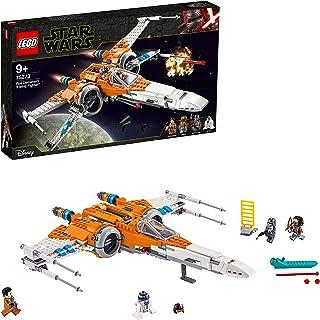 LEGO Star Wars - Caza Ala-X de Poe Dameron, Juguete de Construcción Inspirado en la Guerra de las Galaxias, Incluye 3 Minifiguras de Personajes de la Saga y a R2D2 (75273)