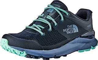 The North Face Women's Vals Wp Trekking & Hiking Shoes, Urban Navy/Ice Green
