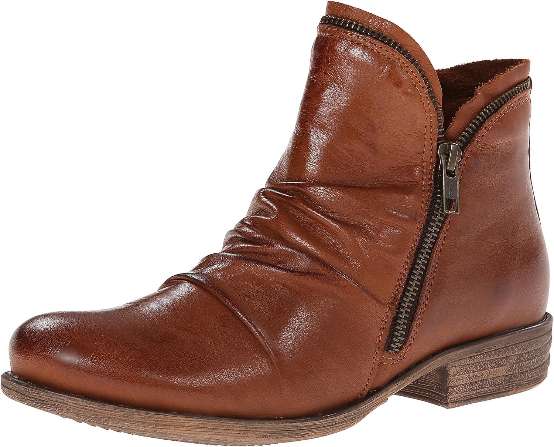 Miz Mooz Woherrar Woherrar Woherrar Luna läder Ankle Boot med Zipper Accent  billigt försäljning online