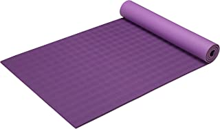 Gaiam Yoga Mat - Ultra-Sticky 6mm Extra Thick Exercise & Fitness Mat All Types Yoga, Pilates & Floor Exercises (68