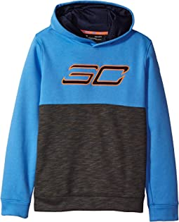Under Armour Kids - SC30 Fleece Logo Hoodie (Big Kids)