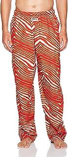 Zubaz Men's Standard Classic Zebra Printed Athletic Lounge Pants Large Multi