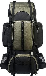 AmazonBasics Internal Frame Hiking Backpack with Rainfly