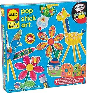 ALEX Toys Little Hands Pop Stick Art Craft Kit