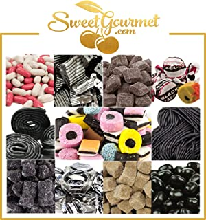 SweetGourmet World's Best Licorice Hamper - Candy Gift Box With A Personal Message