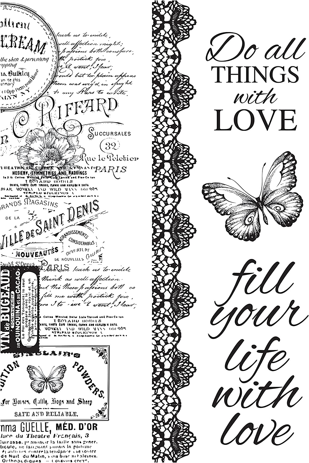 Kaisercraft Memory Lane Clear Stamps 6 X4 - B07BXDG43Z | Exquisite (mittlere) Verarbeitung