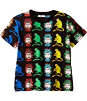 Dolce & Gabbana Kids - Multi Monkeys T-Shirt (Toddler/Little Kids)