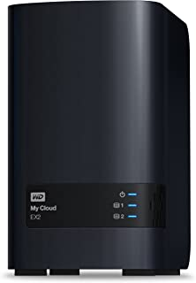 WD My Cloud EX2 Diskless Network Attached Storage - NAS - WDBVKW0000NCH-NESN