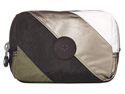 Kipling Elin Pouch (Black Mix Block) Handbags