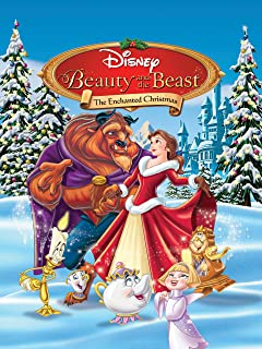 beauty and the beast enchanted christmas belle