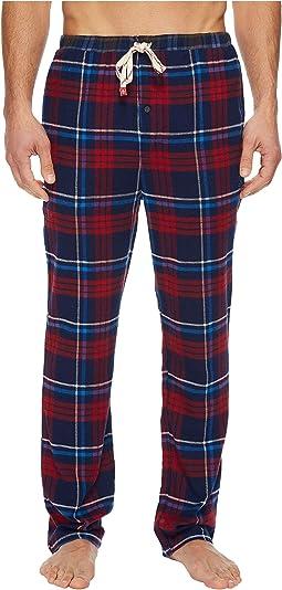 Original Penguin - Plaid Single Flannel Pants