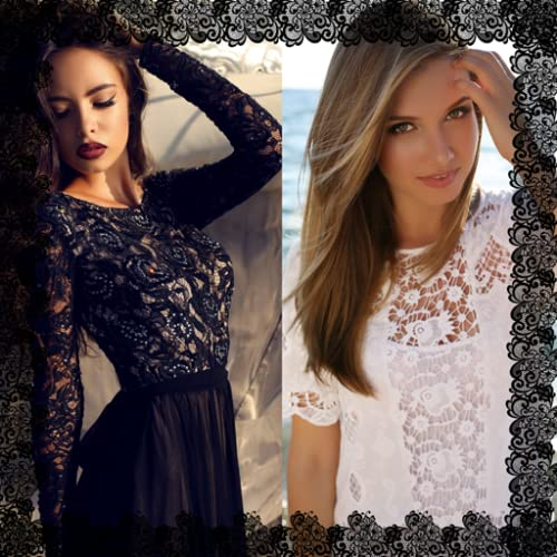 Lace Photo Collage Maker