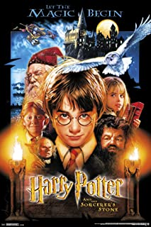 """Trends International 24x36 Harry Potter-Sourcerer's Stone Premium Wall Poster, 22.375"""" x 34"""""""