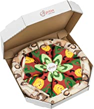 PIZZA SOCKS BOX Vege 4 pairs Cotton Socks Made In Europe Unisex Funny Gift!