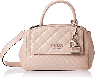 Guess Womens Satchel Bag, Beige - SG766605