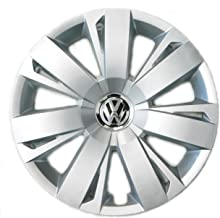 Genuine OEM VW Hubcap Jetta-Sedan 2011-2014 14-Spoke Cover Fits 16-Inch Wheel