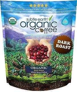 2LB Cafe Don Pablo Subtle Earth Organic Gourmet Coffee – Dark Roast – Whole..