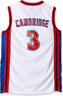 044bf2991 MVG ATHLETICS Cambridge  3 Knights Throwback Basketball Jersey Embroidery  Small-XXL