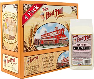 Bob's Red Mill Non-Fat Dry Milk Powder, 22-ounce (Pack of 4)