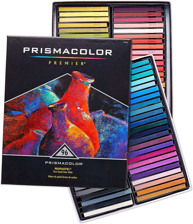 PrismaFarbe 27049 Premier NuPastel Stifte, Pastellfarben, 24 Stück 96-Count 96-Count