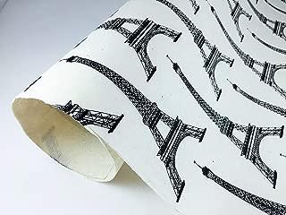 3 Sheets Eco Friendly Fine Decorative Handmade Lokta papers NA6-01 LANDSCAPE FULL TREE