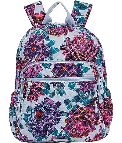 Vera Bradley Campus Backpack (Neon Blooms) Backpack Bags