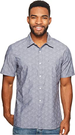 Pescado Oxford Short Sleeve Woven
