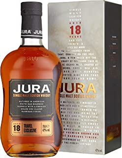Jura 18 Years Old Travel Exclusive mit Geschenkverpackung Whisky 1 x 0.7 l