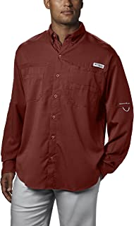 Columbia Men's PFG Tamiami II Long Sleeve Shirt, UPF 40...