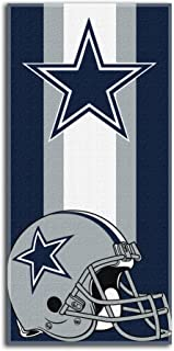 THE NORTHWEST COMPANY NFL Unisex Zone Read Beach Towel, 30-inch by 60-inch