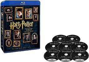 哈利·波特 8-Film 蓝光套装 (8碟装) [Blu-ray]
