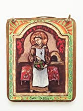 Housewarming gift Kitchen art San Pasqual Retablo gift for all things foodie chef baker Mom Cook patron saint of chefs