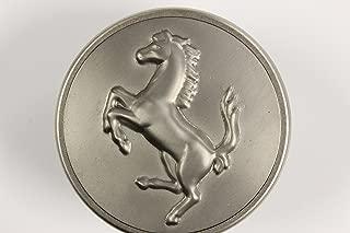 Ferrari OEM Titanium Center Caps for 360, 430, 458, 355, 599, 612, California, FF, 550, 575, and 456 part #70001378