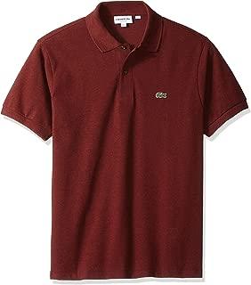 Men's Classic Short Sleeve Chine Pique Polo Shirt