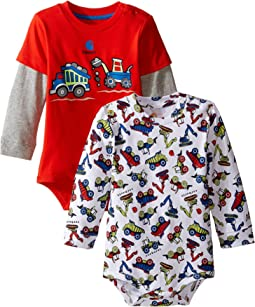 Long Sleeved Truck Body Shirt 2-Pack (Infant)
