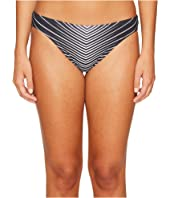 Vince Camuto - Miter Stripes Classic Bikini Bottom