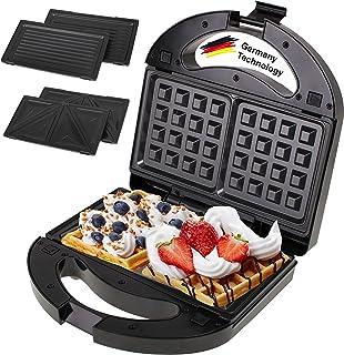 Germany technology 3 in 1 waffle maker, Sandwich maker, grill press 1000w 1 year warranty