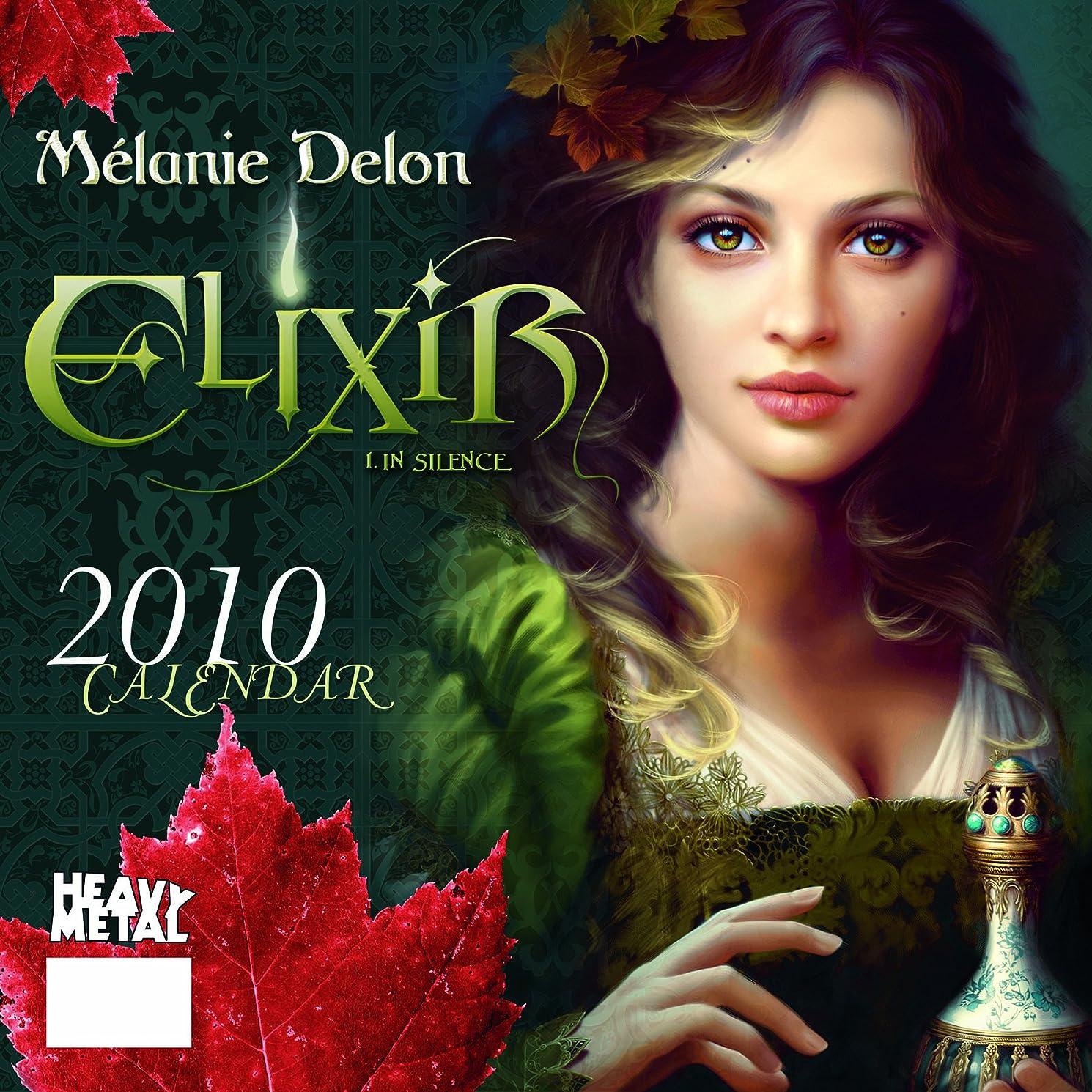 提案するプリーツ懲戒Art of Melanie Delon 2010 Calendar