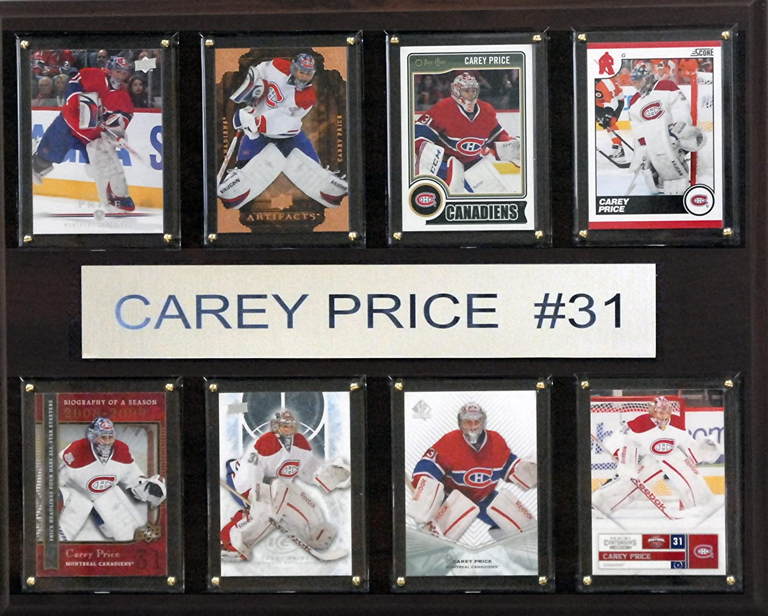Popularity CI Collectables NHL 8-Card Finally popular brand Mens Plaque