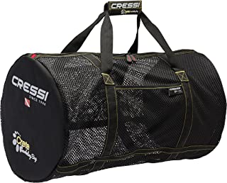 Cressi Strong Foldable Mesh Duffle Bag for Scuba Diving, Snorkeling Equipment | Gorgona & Crete: designed in Italy