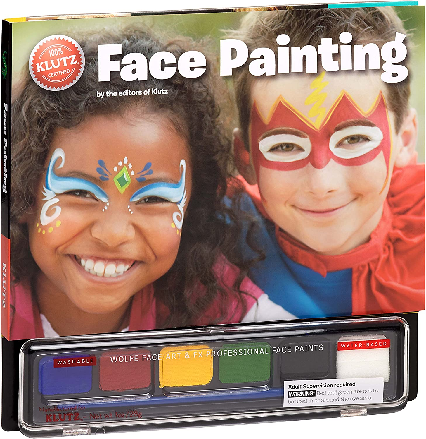 Klutz San Diego Mall Face Painting Craft Direct store Kit