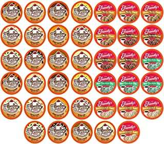 Two Rivers Coffee Two Rivers Coffee Ice Cream Flavored Coffee Pods, Variety Sampler Pack..