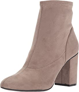 Women's Time for Fun Ankle Bootie with Sock Shaft High Heel Mi