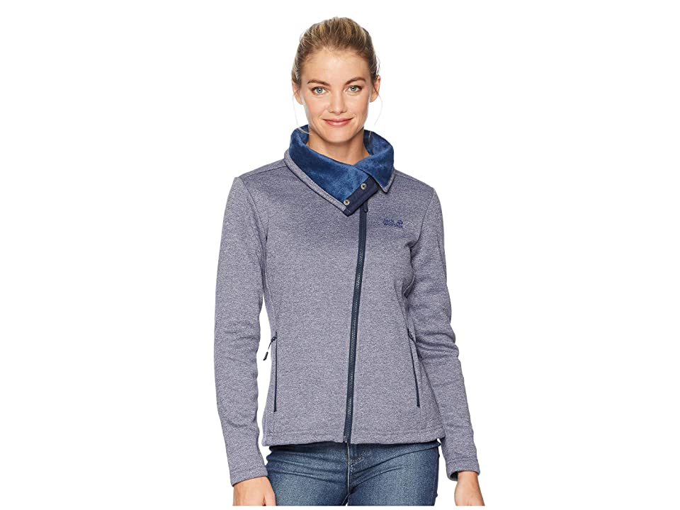 Jack Wolfskin Atlantic Sky Jacket (Midnight Blue) Women