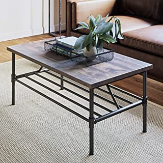 glass table with hairpin legs